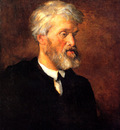 Watts George Frederick Portrait of Thomas Carlyle