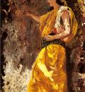 Weeks Edwin Lord Standing Arab Woman