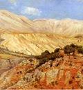 Weeks Edwin Lord Village in Atlas Mountains Morocco