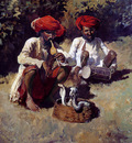 Weeks Edwin The Snake Charmers Bombay