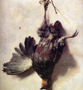 Weenix Jan Baptist Dead partridge Sun