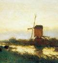 Weissenbruch Jan Landscape at Noorden Sun