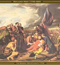 benjamin west the general wolfes death 1770 po amp