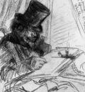 Whistler James Fantin Latour drawing Sun