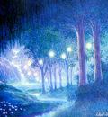 kb Williams Gilbert Night Forest