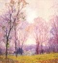 williams village spring scene