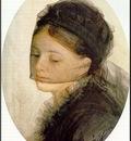 Zorn I sorg  1880, akvarell Watercolour
