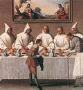St Hugo of Grenoble in the Carthusian Refectory WGA