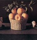 Still life with Lemons Oranges and Rose WGA
