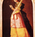Zurbaran Francisco De St Apollonia