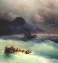 aivazovsky the shipwreck