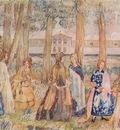 borisov musatov autumn evening sketch for a panel 1904
