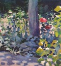 borisov musatov poppies in a garden