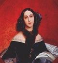 briullov portrait of m bek