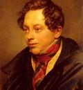 Kiprenski Orest Adamovich Portrait Of Petr Vassilievich Basin