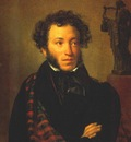 kiprensky portrait of pushkin