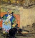 Kustodiev Boris Cabaret dancer Sun