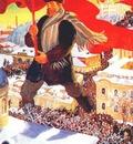 kustodiev bolshevik