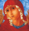 petrov vodkin mother of god of tenderness to evil hearts1914
