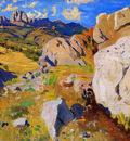 Rylov Arkady Mountains in Kekeneiz Crimea Sun