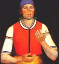 malevich female worker