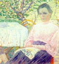 malevich portrait of member of artists family