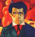 malevich self portrait i c1908