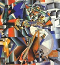 malevich the grinder principle of flickering 1912