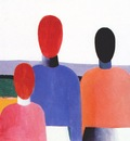 malevich three female figures c1928