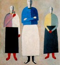 malevich three women 1928