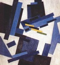 rozanova abstract composition mid 1910s