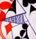rozanova four aces simultaneous composition 1915