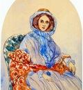 somov portrait of a lady