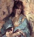 Stevens A Woman Seated in Oriental Dress