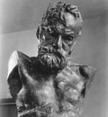 Rodin Auguste Portrait of a Man