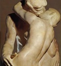 Rodin Auguste The Kiss detail from behind