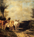 Troyon Constant Returning From Pasture