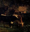 Troyon Constant Vaches A L Abreuvoir