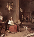 teniers david the younger kitchen scene