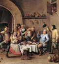 TENIERS David the Younger Twelfth Night The King Drinks