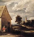 teniers david the younger village scene
