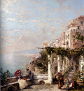 Franz Richard Unterberger Die Amalfi Kuste The Amalfi Coast