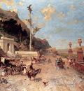 Unterberger Franz Richard La Strada Monreale Palermo