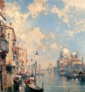 Unterberger Franz Richard The Grand Canal Venice
