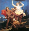 Tiepolo Apollo and Daphne