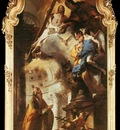 Tiepolo Pope St Clement Adoring the Trinity
