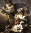 Tiepolo The Angel Succouring Hagar