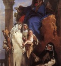 Tiepolo The Virgin Appearing to Dominican Saints