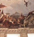 Tiepolo Wurzburg Apollo and the Continents detail3