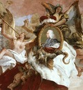 Tiepolo Wurzburg Apollo and the Continents detail9